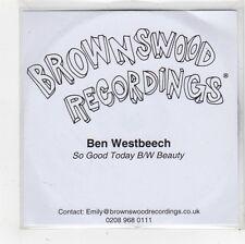 (FS858) Ben Westbeech, So Good Today - DJ CD