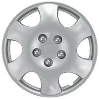 Qty 1 Piece A/m Silver Abs Fits Pt Cruiser 15 Wheel Cover Hub Cap