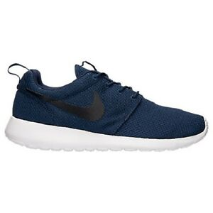 a71af7b3f58a 511881-405 Men s Nike Roshe One Shoes!! MIDNIGHT NAVY BLACK WHITE