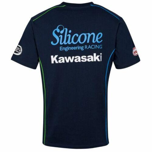19SK-ACT Official Silicone Racing Kawasaki Team Custom T shirt