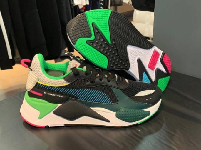 PUMA RS-X RS-X RS-X TOYS scarpe scarpe da ginnastica Authentic 36944901 369449 01 nero blu 5a1b02