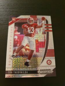 Tua Tagovailoa 2020 Prizm Draft Picks Football RC Card Mojo /49 NFL Crimson Tide
