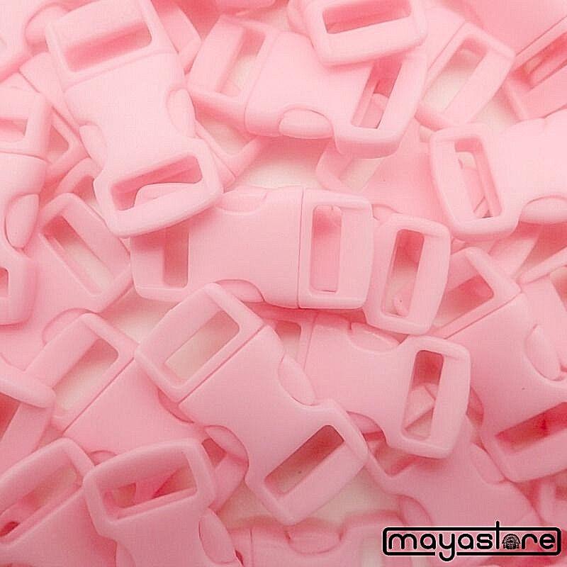 10mm boucle rose courbé Bracelet Bouchon Cheville boucle fermeture Click boucle Cheville 903254