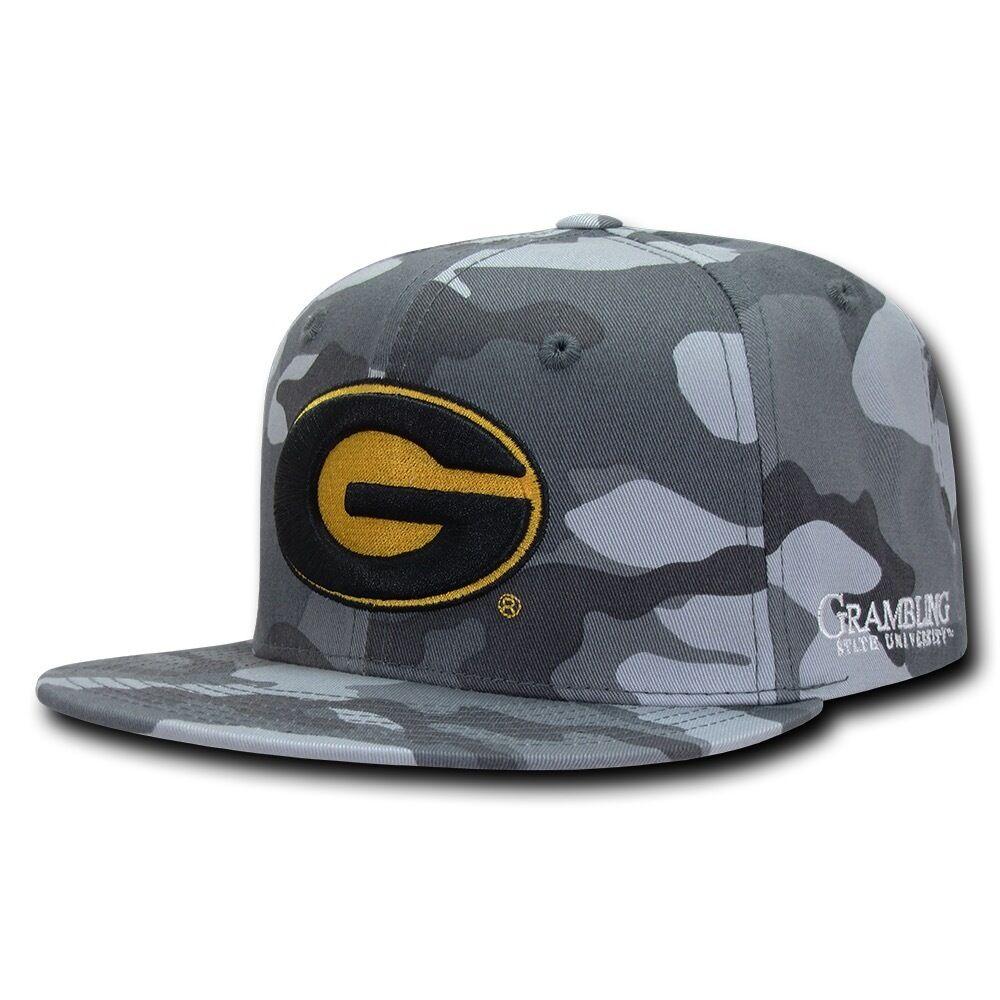 NCAA Grambling State Tigers Baseball U Camo Camouflage Snapback Baseball Tigers Caps Hats 9b9f72