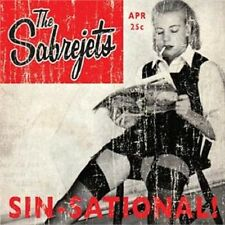 THE SABREJETS Sin-Sational CD - Rockabilly - Rock 'n' Roll - Teddyboy - NEW
