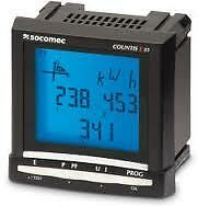 Socomec COUNTIS E53 3-phase kWh power energy meter analyser, MODBUS Via RS485