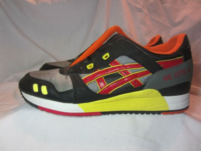 ASICS GEL LYTE III 3 athletic Sporty Shoes WhiteBlue Flame HQ81K Men's 13 GUC