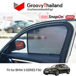 2 Pcs Front Car Sun Shade Assembly Fit Bmw 3 Series F30 Embedded Magnet Ebay