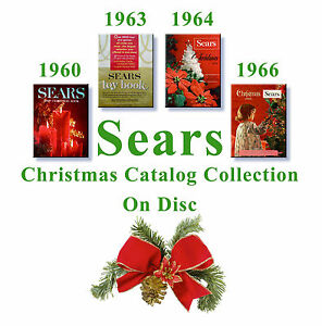 Christmas Catalogs.Details About 1960 1963 1964 1966 Sears Christmas Catalogs On Disc