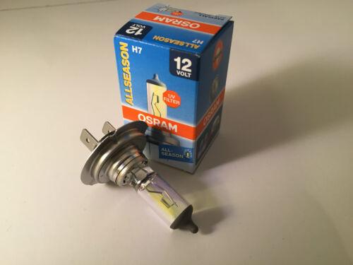2 x OSRAM h7 12v 55w Allseason Lampe Lampes 64210all jaune all season GERMANY