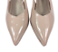 thumbnail 7 - Womens Ladies Pier One Nude Patent High Heel Party Court Shoes Size UK 8 New