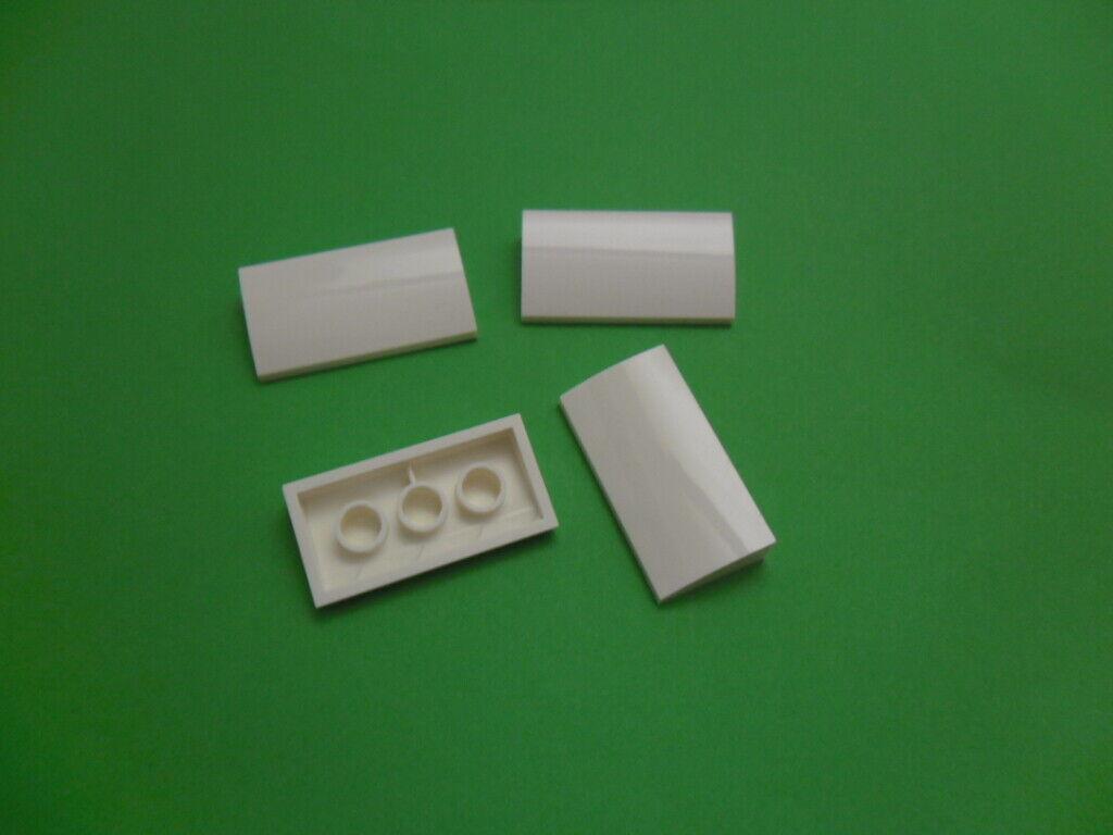 sélecteur de couleurs Lego City 4x Arc Pierre Dachstein oblique Pierre 2x4x2//3 Courbé 88930