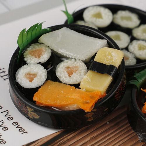 1Pc 1//6 Dollhouse Miniature Janpanese Sushi Rice Roll For Dolls Pretend Food TJB