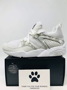 separation shoes 70dd7 ffa4c Image is loading Bape-x-Puma-Blaze-of-Glory-White-Camo-