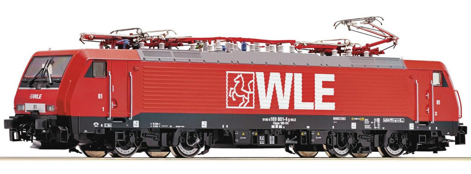 ROCO 725514 D-WLE 189 801-4 Ellok Ep V