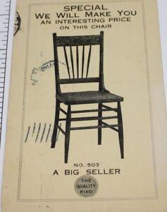Image Is Loading Kansas City Casket Furniture Company Advertising Receipt Postcard