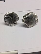 Sea Shell PP-G24   Cufflinks fine English pewter Cufflink