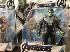Hulk Marvel Avengers Endgame Team Suit Hulk Deluxe 6 Inch Action Figure NEW SEAL