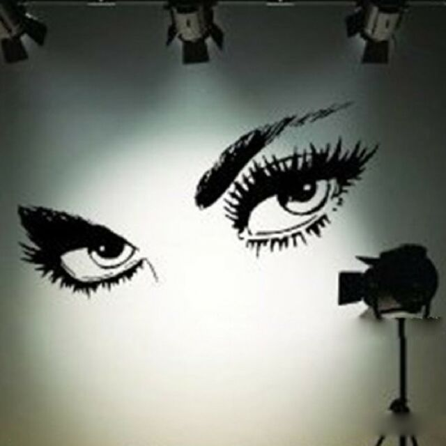 Wall Sticker Sexy Eyes Removable Mural Decal Art DIY Home Room Decor Vinyl