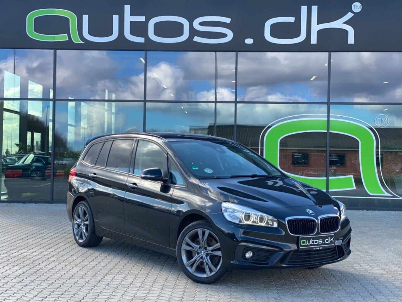 BMW 220d 2,0 Gran Tourer Advantage aut. 5d - 299.000 kr.