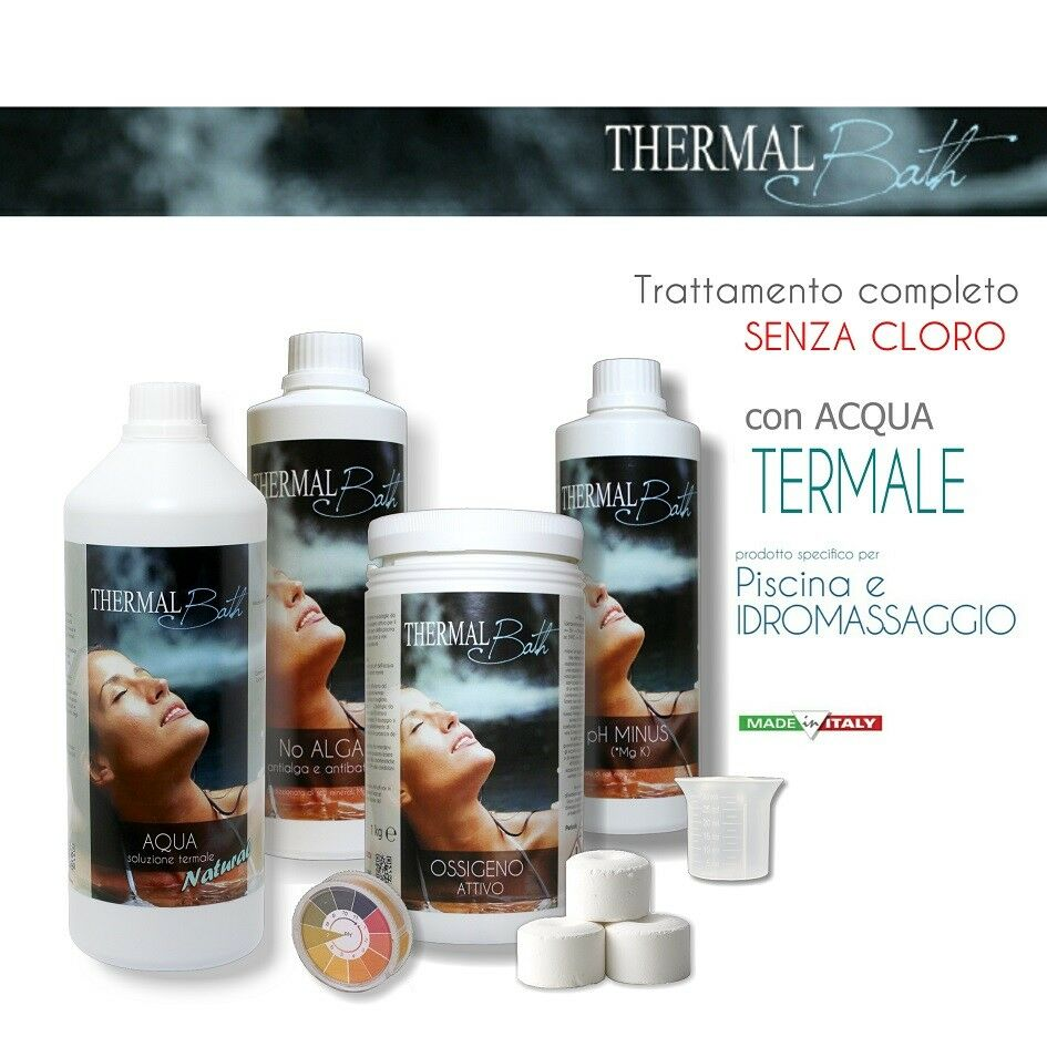 Thermal Bath Kit ACQUA TERMALE per SPA con Idromassaggio DI TECNO LINE