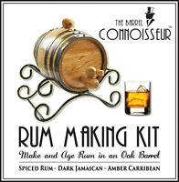 The Barrel Connoisseur® Rum Making Kit Spirits Bar Pub Barware