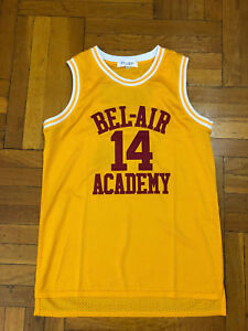 c6f7d316713a The Fresh Prince of Bel-Air Will Smith  14 Basketball Jersey M