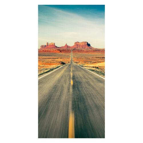 décor film lui-même adhésive l x h Türtapete Highway Monument Valley 100 x 200 cm