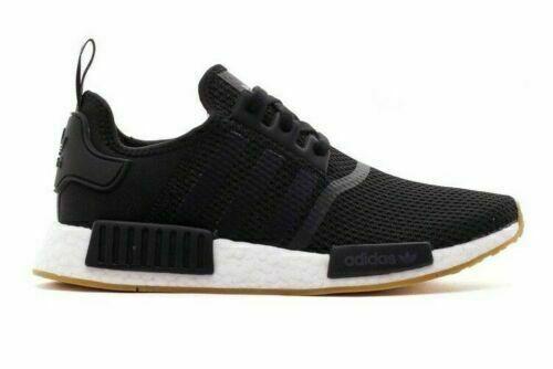 Men's adidas NMD Runner R1 Casual Shoes Core Black/Gum B42200 BLK