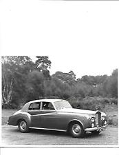 ROLLS ROYCE SILVER CLOUD III SALOON ORIGINAL PRESS PHOTO 'brochure related'