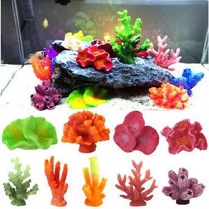 Artificiel-Resine-Corail-Pour-Aquarium-Aquarelle-Decoration-Sous-marin-Ornement