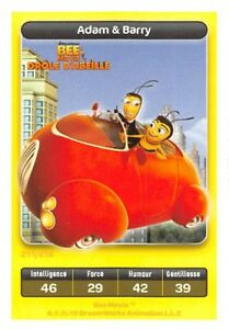 Karte-Carrefour-Dreamworks-Biene-Movie-Lustige-d-039-Biene-Adam-amp-Barry-Nr-211