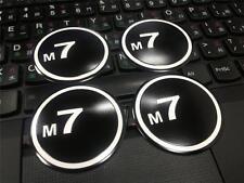Set of 4pcs M7  WHEEL BADGE for MINI Cooper S JCW R50 R53 R56 R57 R58 in 51mm
