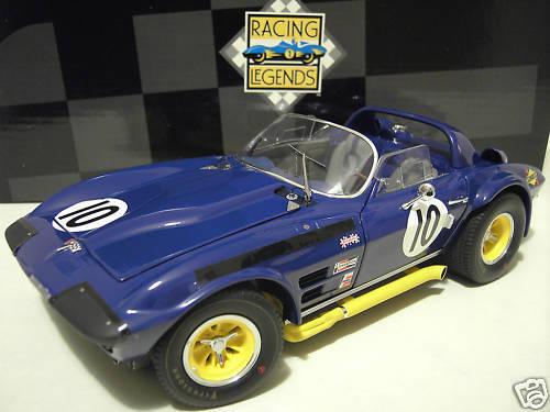 CHEVROLET CORVETTE 1966 GRAND SPORT ROADSTER 1 18 EXOTO 18032 voiture miniat