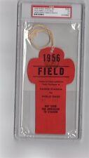 1956 World Series Don Larsen Perfect GM Ticket pass psa Mantle HR#7/8
