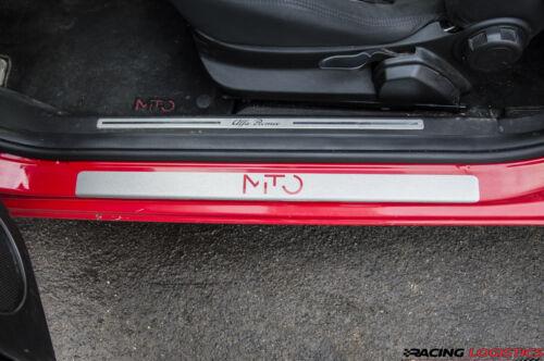 ALFA ROMEO MITO DOOR SILL Brushed Aluminium Protector Sticker 0.9 1.4 1.3 1.6 3M