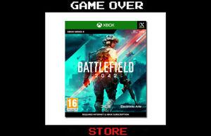 Battlefield 2042 Xbox One Series X Nuovo Videogame Promo Pre Order Copertina ITA