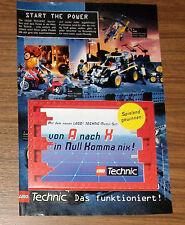 Seltene Werbung LEGO Technic 8244 Modul Set + Gewinnspiel / Katalog / Spiel 1996