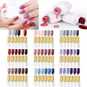 BORN-PRETTY-2-3-6Colors-Set-Gellack-UV-LED-Pink-Soak-Off-Gel-Polish-6ML