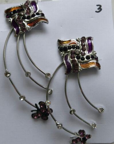 Crystal Rhinestone Flower Hair Clip Gift Bridal Wedding Hair Accessory Charming