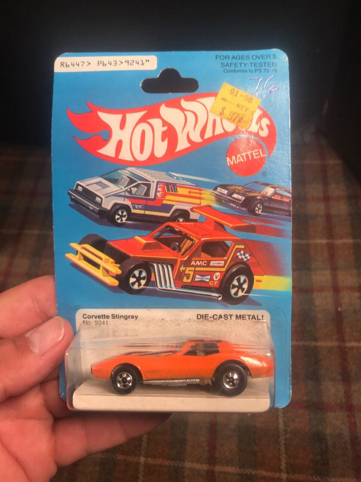 mejor opcion Hot Wheels 1979 Corvette Stingris Hong Kong    9241 Naranja Nuevo  ver Descripción   mejor vendido