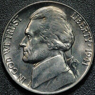 1943-D Jefferson Nickel Gem BU Uncirculated Full Step Full Steps