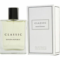 Banana Republic Classic Men 4.2 Oz 125 Ml Eau De Parfum Spray Sealed