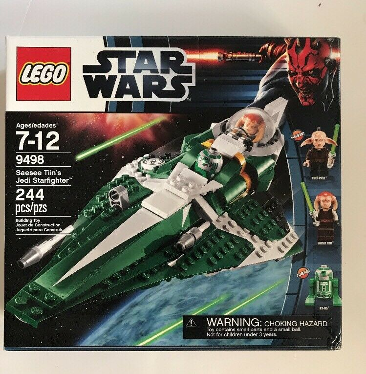 LEGO Star Wars Saesee Tiin's Jedi Starfighter  9498  NEW SEALED