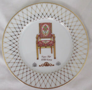 Image is loading LENOX-FRENCH-CHAIRS-COLLECTION-EMPIRE-PORCELAIN-DINNER- PLATE  sc 1 st  eBay : dinner plate in french - pezcame.com