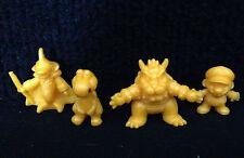 Lot of 4 Super Mario Bros. RPG Keshi Small Rubber Mini Figures Bowser Yoshi