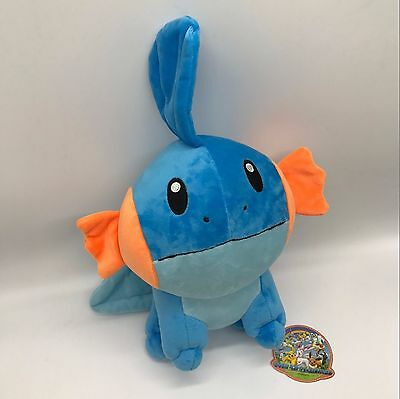 "Pokemon Sun//Moon Marill #183 Plush Soft Toy Stuffed Animal Doll Teddy 9/"" BIG"