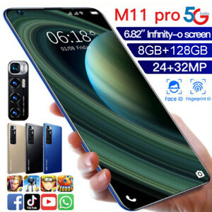M11PRO 6.82'' Android 10.1 Mobile Smart Phone 8GB+128GB 10 Core Dual SIM Card