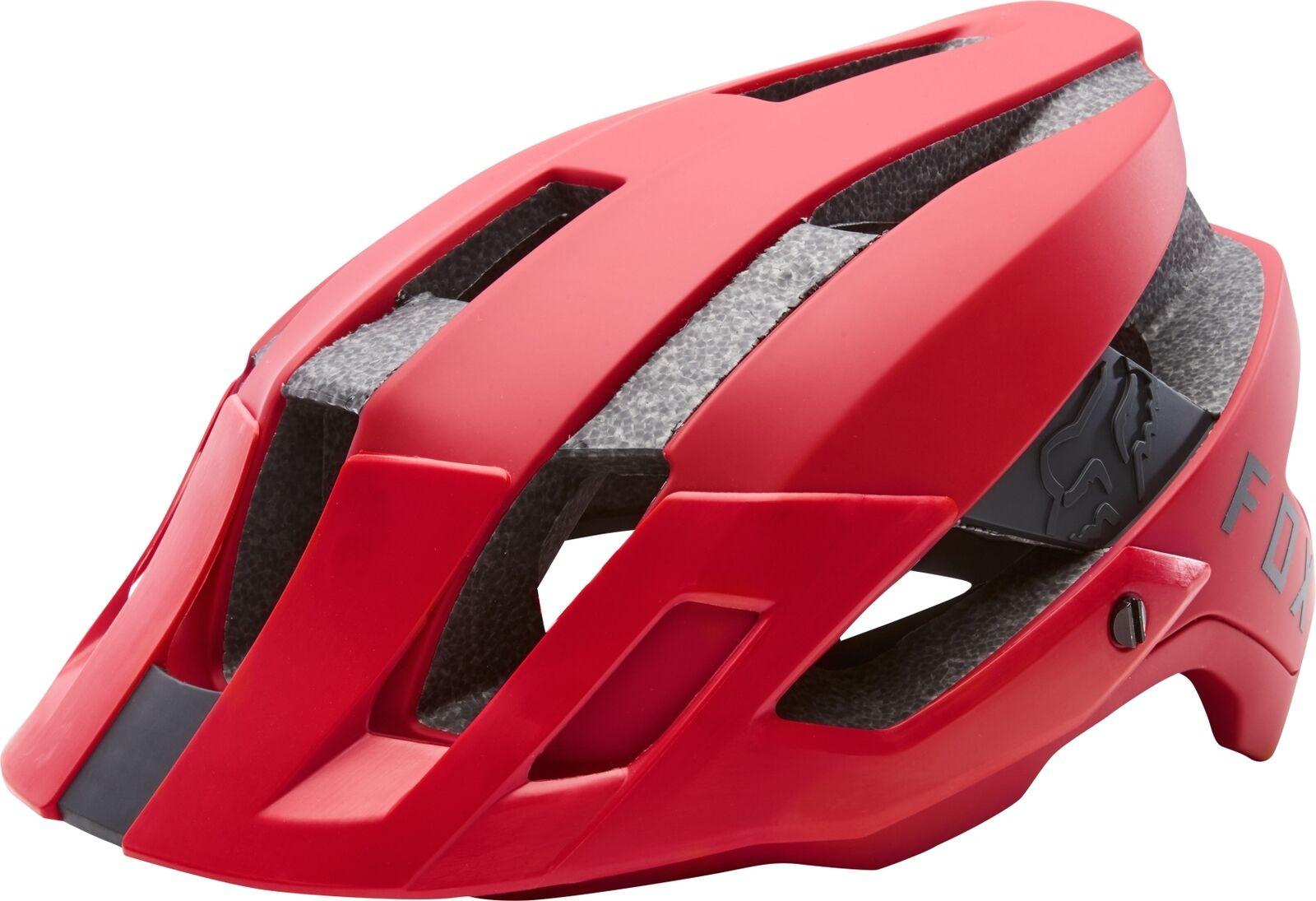 FOX Flux casco ENDURO TRAIL MTB   Rojo Brillante L XL