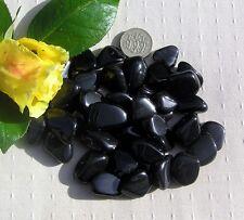 12 Stunning Black Rainbow Obsidian Crystal Tumblestones
